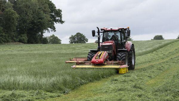 Un tracteur. Image d'illustration - Sputnik France
