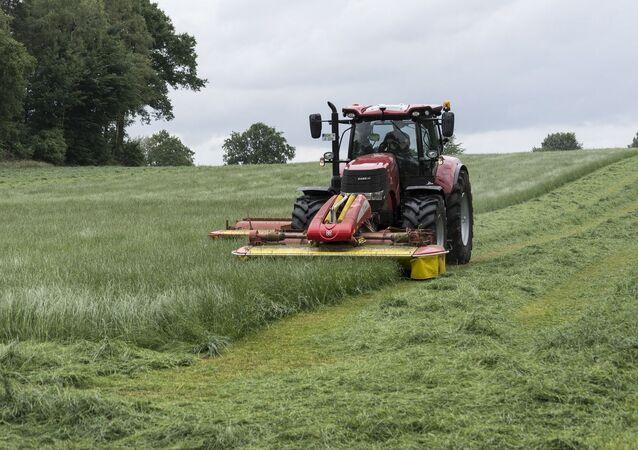 Un tracteur. Image d'illustration