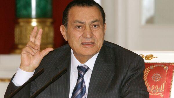 Le parcours de l'ancien Président égyptien Hosni Moubarak en photos  - Sputnik France