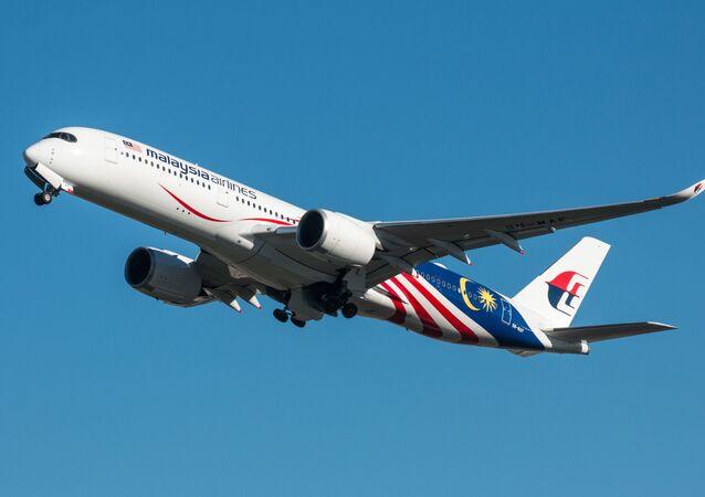 Un avion de Malaysia Airlines