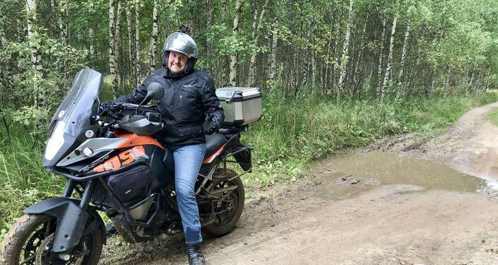 Les difficultés du road trip sibérien ne font pas peur à Sébastien Blandin