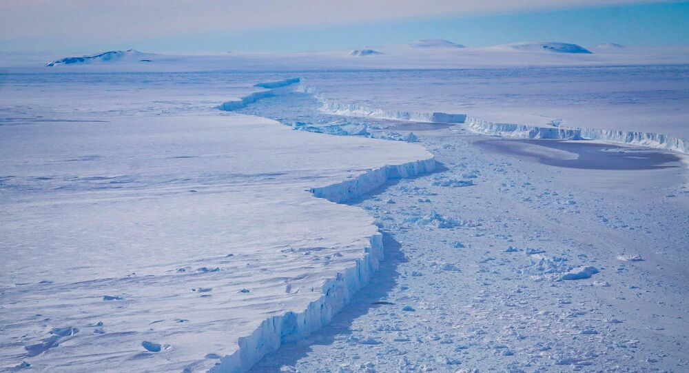 Un glacier en Antarctique (image d'illustration)