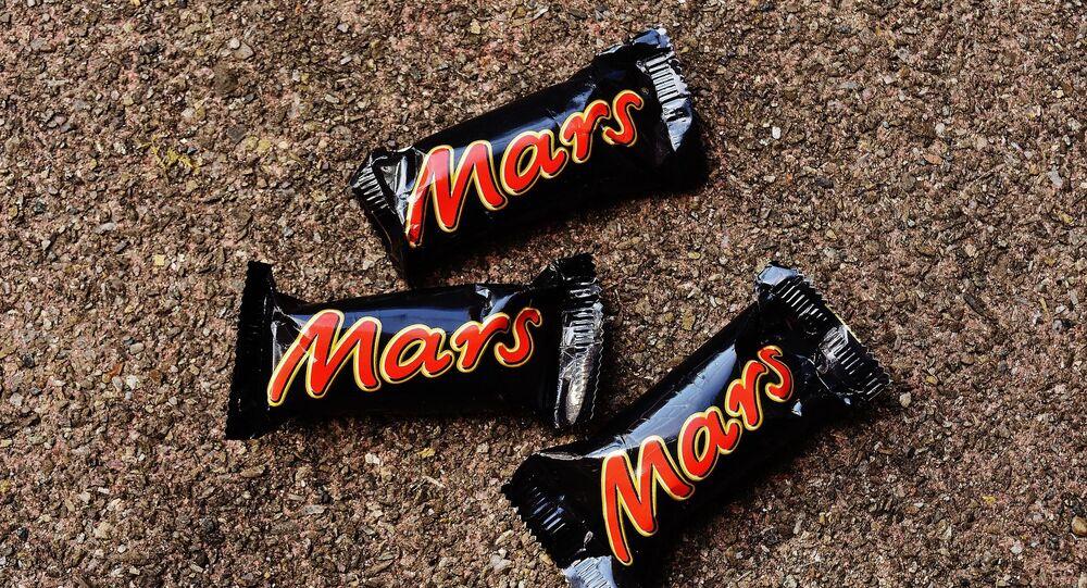 Des barres Mars