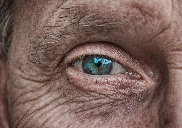 Peau d'une personne âgée
