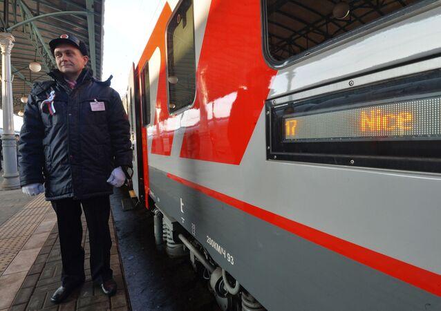Train Moscou - Nice