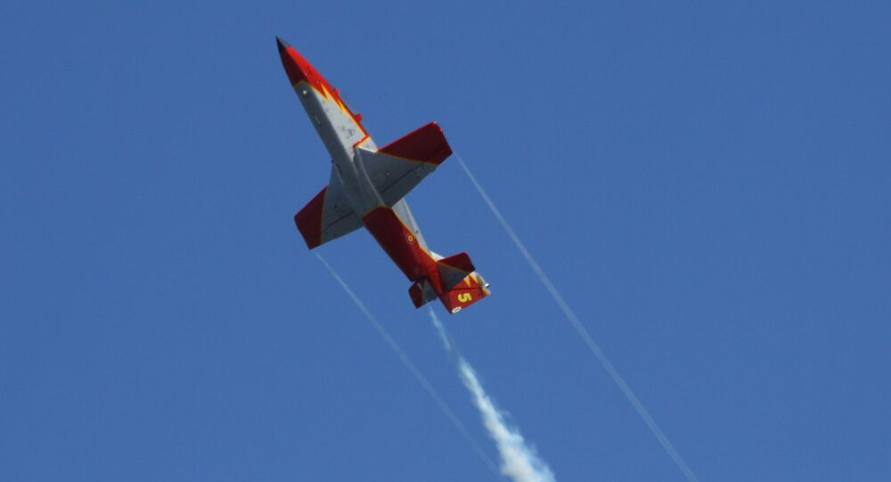 Un C-101 de la Patrulla Aguila espagnole