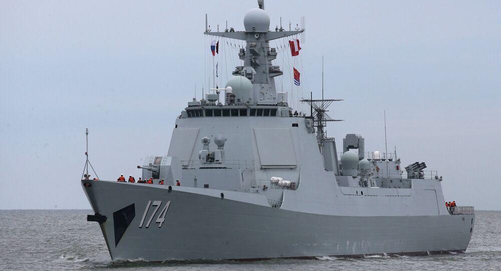 Un destroyer chinois (image d'illustration)