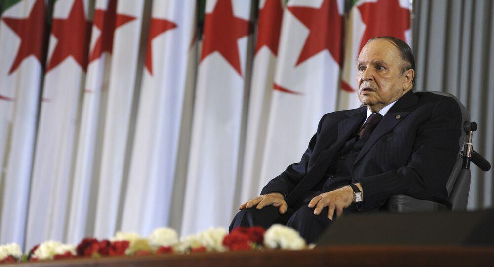 L'ex-président algérien déchu Abdelaziz Bouteflika