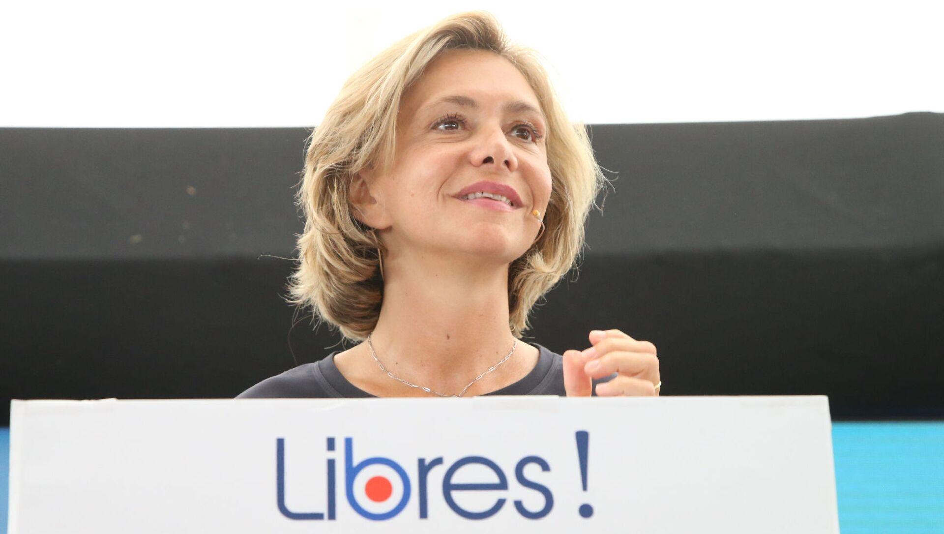 Valérie Pécresse, présidente de la région Ile-de-France, fondatrice du parti Libres! - Sputnik France, 1920, 07.06.2021
