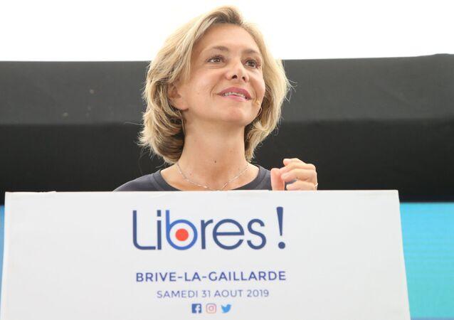 Valérie Pécresse, présidente de la région Ile-de-France, fondatrice du parti Soyons libres