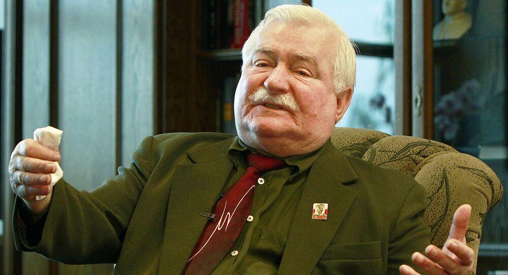 Lech Walesa. File photo