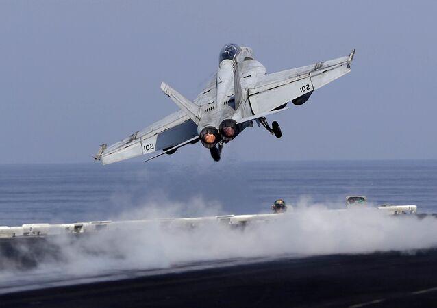 Un avion de chasse américain (photo d'archives)