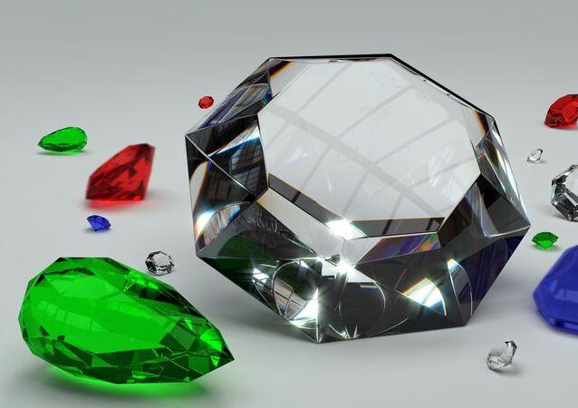 Des pierres précieuses (image d'illustration)