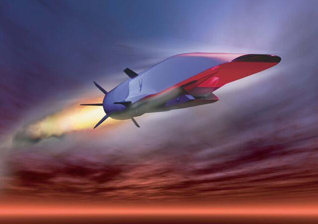 Un missile hypersonique (image d'illustration)