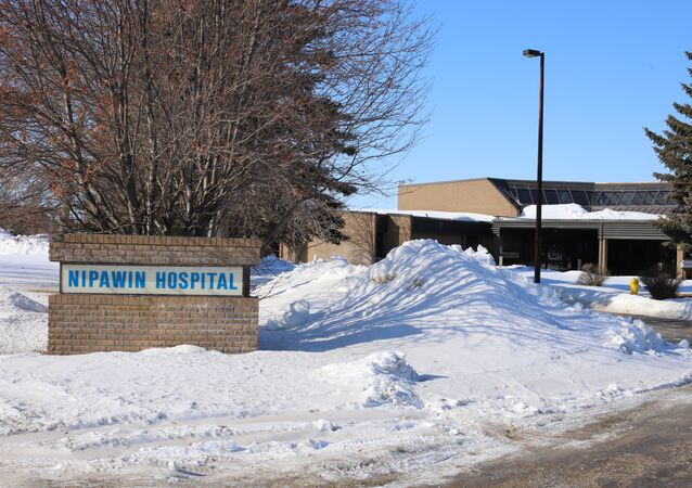 L'hôpital de Nipawin au Canada.