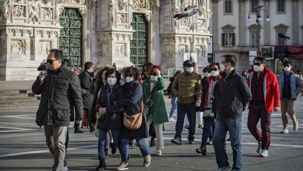 Pandémie de coronavirus en Italie (archive photo) - Sputnik France
