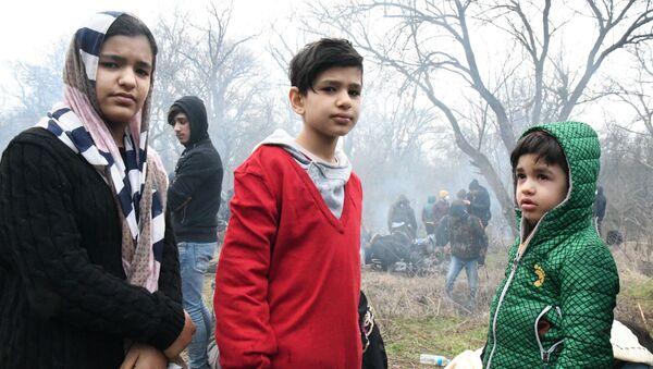 Les migrants afghans. - Sputnik France
