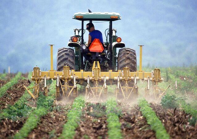 Un agriculteur (image d'illustration)