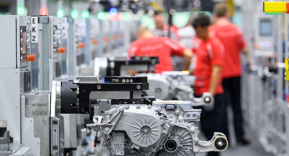Fabrication de moteurs de voiture électrique en Allemagne
