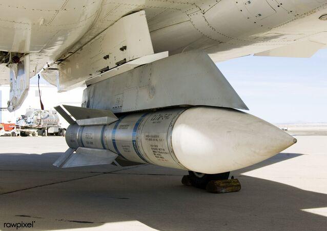 Des missiles Phoenix qui peuvent servir de bancs d'essais hypersoniques (archive photo)