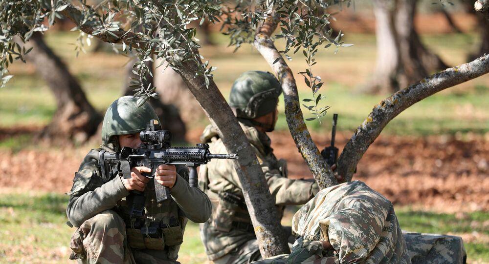 Des soldats turcs en Syrie (archive photo)