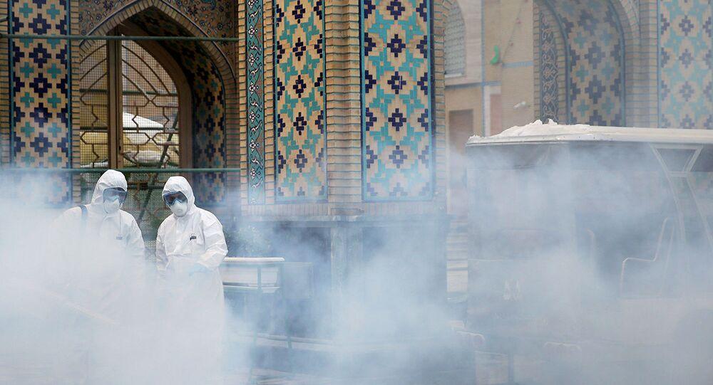 Épidémie de coronavirus Covid-19 en Iran (archive photo)