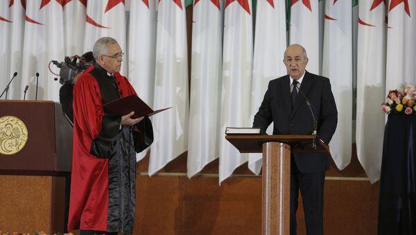 Le Président Abdelmadjid Tebboune prêtant serment - Sputnik France