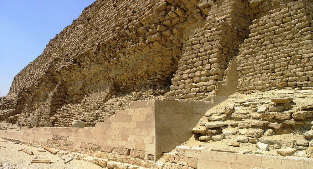 La pyramide de Djéser