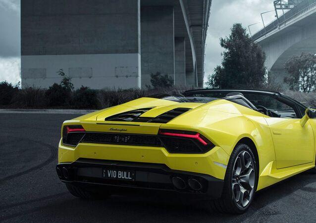 Une Lamborghini Huracan