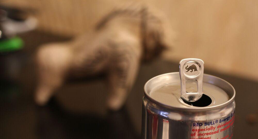 Une boisson énergisante