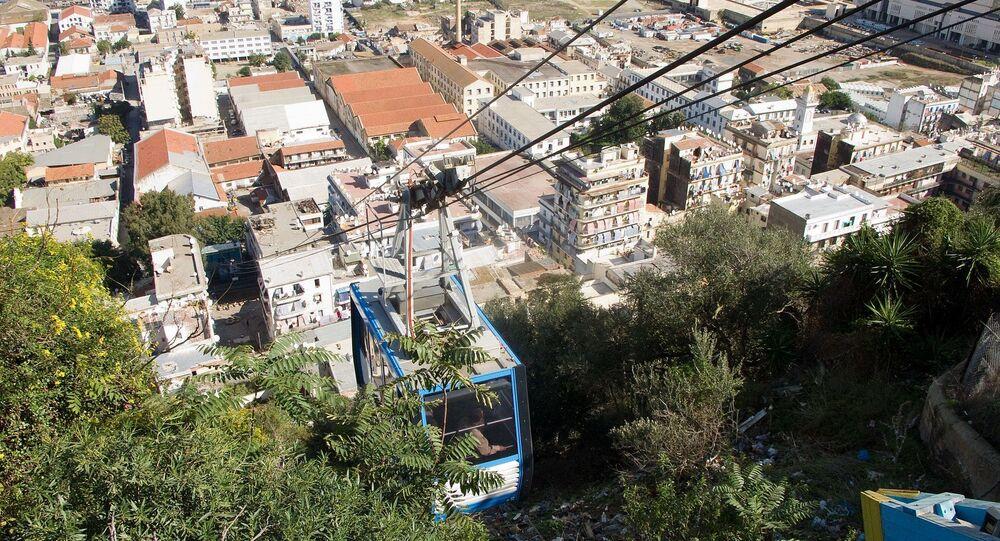 Téléphérique d'El-Madania, Alger, Algérie