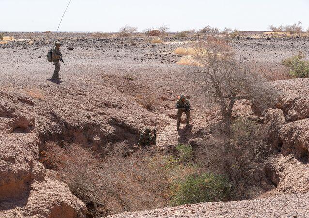 Le 2e REP traque les terroristes au Sahel (image d'illustration)