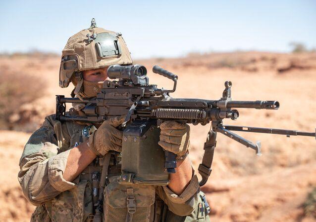 Légionnaire du 2e REP au Sahel