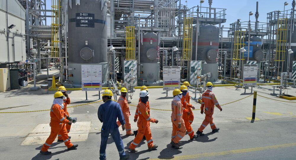 Employés de Saudi Aramco