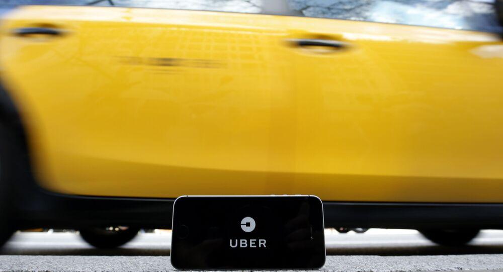Uber (image d'illustration)