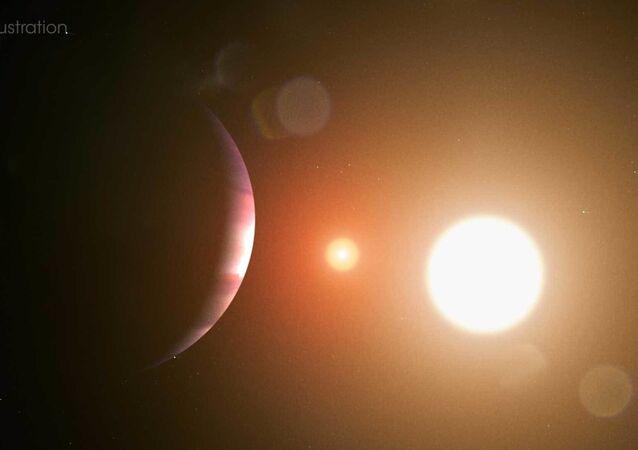 Une planète, image d'illistration
