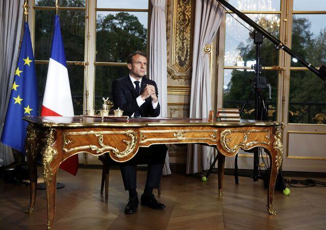 Emmanuel Macron (photo d'archive)