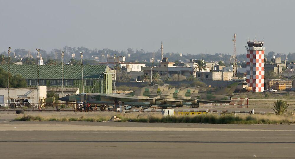 Aéroport Mitiga de Tripoli