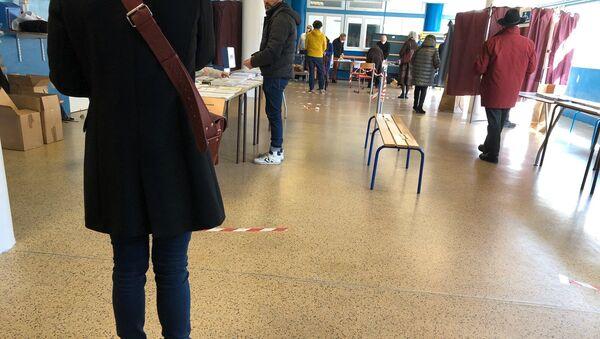 Bureau de vote, Paris, 15 mars 2020 - Sputnik France