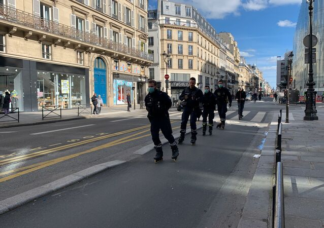 Situation à Paris au 15 mars 2020