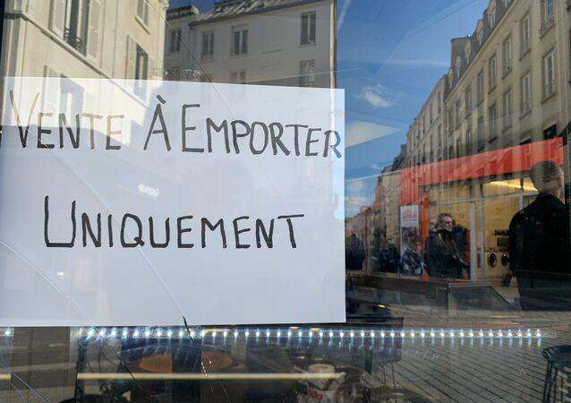 Situation à Paris le 15 mars 2020