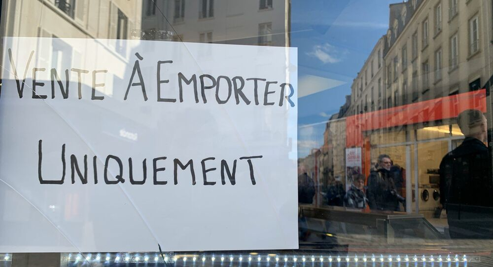 Situation à Paris le 15 mars 2020