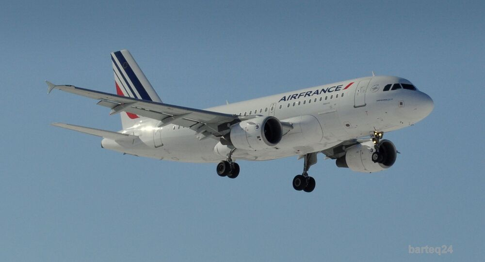 Un Airbus A319-111 d'Air France (archive photo)