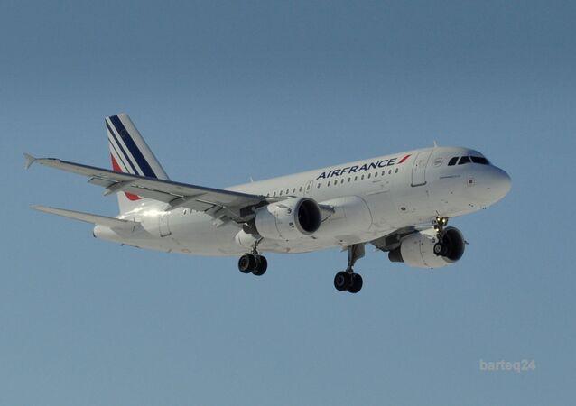 Un Airbus A319-111 d'Air France (archive photo)