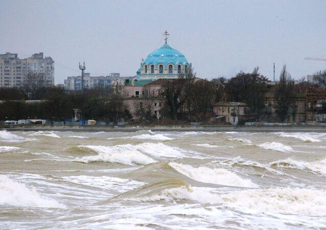Une tempête en Crimée