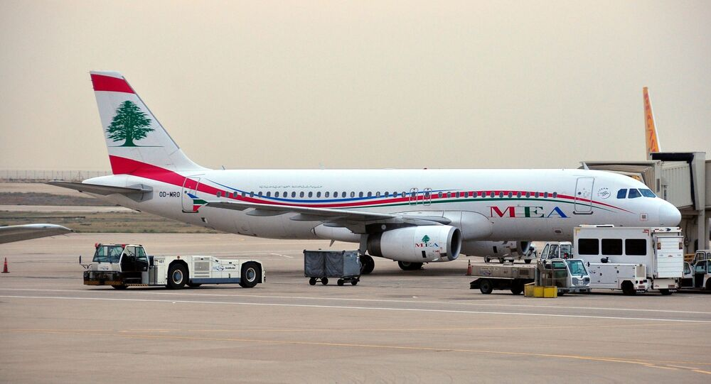 Un avion de Middle East Airlines à l'aéroport de Beyrouth (archive photo)