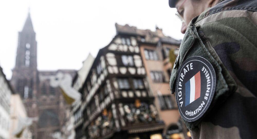 Un soldat français l