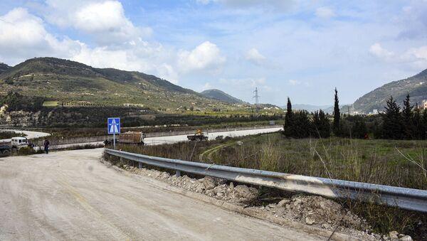 La route M4 en Syrie - Sputnik France