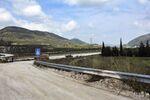 La route M4 en Syrie
