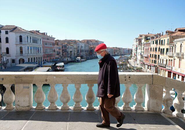 Venise pendant l'épidémie de coronavirus